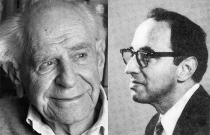 compare and contrast thomas kuhn and karl popper Thomas kuhn and the nature 1993, reconstructing scientific revolutions: thomas s kuhn's philosophy imre | popper, karl | quine, willard van orman.